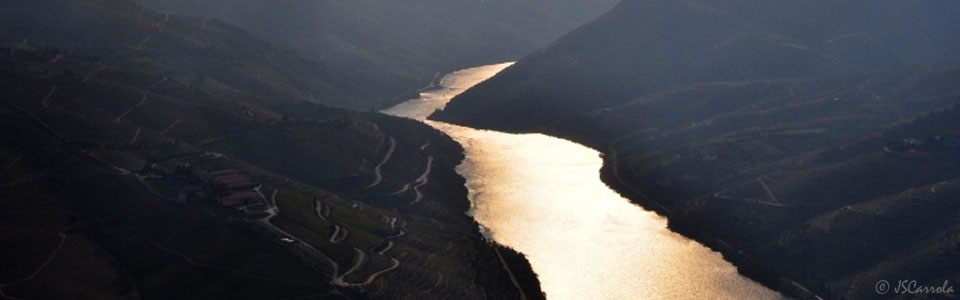 Late afternoon in the Douro River